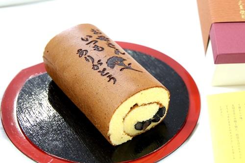 115A3486 鉢植えセット「京・伏見三源庵 黒豆ロールカステラ」