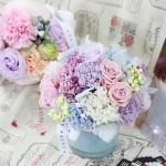 【母の日】フラワーデザイナージェーン・パッカーのお花のギフト(2015年日比谷花壇)
