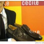 セシールのオーダーメイド紳士靴の説明を聞きました