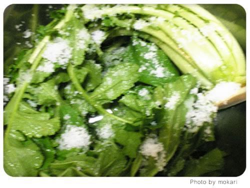 20080627-10 無農薬野菜のミレーの野菜が到着。その日の夕食、出たゴミの話