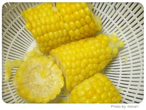 20080628-4 無農薬野菜のミレーの野菜で子供のおやつ作り。2日目