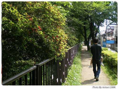 20080808-21 【京都→東京】子連れ旅行(帰省)3日目「江戸東京たてもの園」に行く編(1)