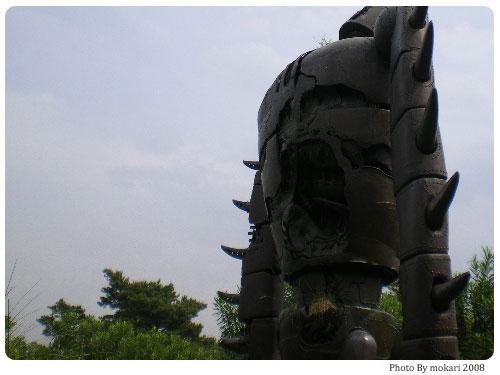 20080816-1 【京都→東京】子連れ旅行(帰省)4日目「三鷹の森ジブリ美術館」編