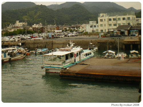 20080929-16 【京都→広島】家族旅行(5)竹原、忠海港、大久野島