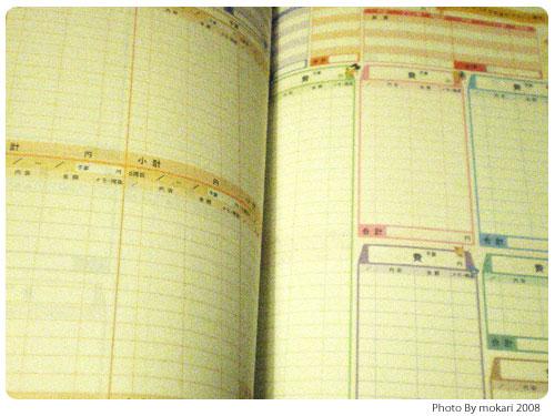 20081012-1 2009年の家計簿「かんたん!袋分け家計簿セット」を購入。5大付録で心機一転。