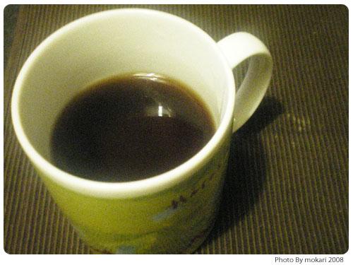 20081116-5 ノンカフェインたんぽぽコーヒーぽぽたんを飲む(ティ―ライフ)