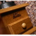 存在感のある手挽きコーヒーミル「Kalita ドームミル」