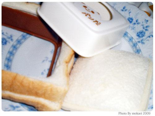 20090329-7 「サンドでパンだ」で食パンいっぱいサンドした。