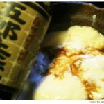 豆乳よせ豆腐と美味い醤油のコラボ