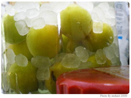 20090607-9 梅酒作り2009年(3/3)梅をつける