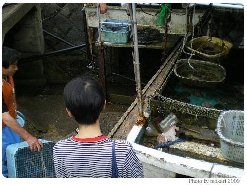 20090721-1 【京都→岩手】子連れ旅行2日目:碁石浜・碁石海岸・大船渡博物館・碁石温泉・キャンプ場
