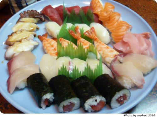 20100111-5 京都「とみ寿司」で、食べたもの!