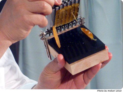 20100207-8 「オ・グルニエ・ドール」西原金蔵氏の発明話がおもしろかった