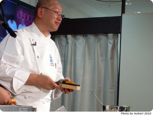 20100207-9 「オ・グルニエ・ドール」西原金蔵氏の発明話がおもしろかった