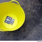 洗濯カゴとして使うTUBTRUGS(タブトラッグス) が便利