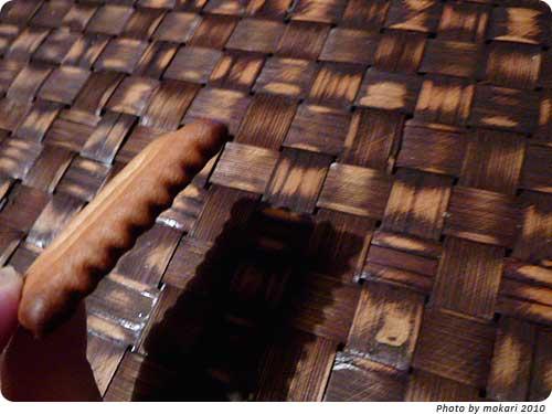 20101127-10 妙にはまるお菓子、しるこサンド