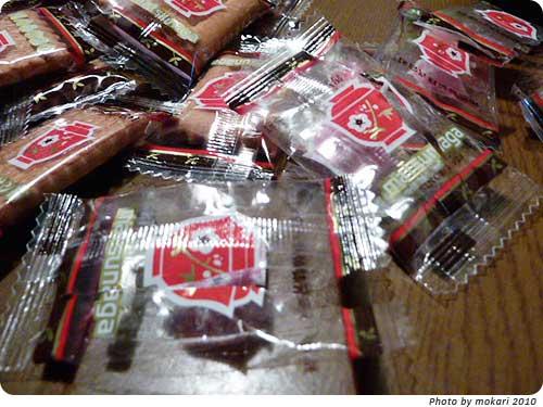 20101127-5. 妙にはまるお菓子、しるこサンド
