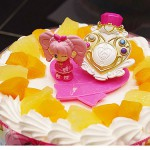 プリキュアのケーキで4歳のお誕生日。クリスマースケーキにも