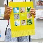 デジカメ写真を使って子供の写真集を作りたい。