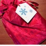 アマゾンのラッピングとメッセージカード。2011年のわが家クリスマスプレゼント便り