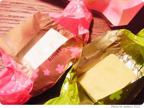 201200408-3 春ですねぇ。メリーチョコレートの「さくら&さくらリーフチョコレート」
