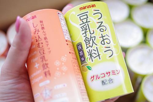 マルサンアイの豆乳 (Photo by SYO)