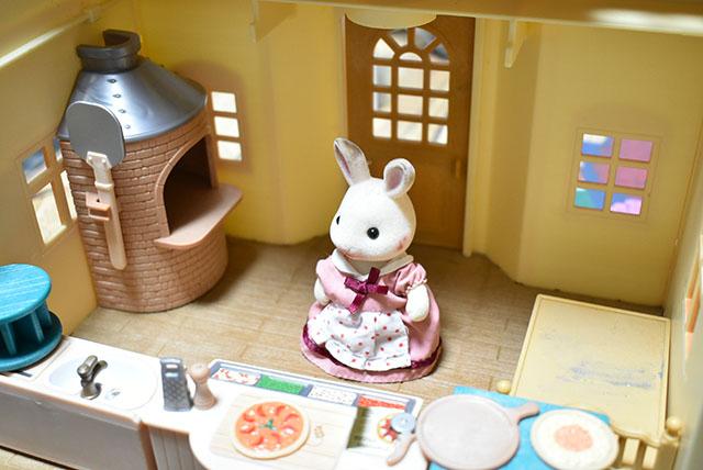 ショコラウサギのお母さん