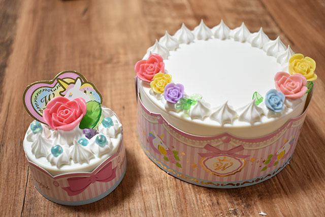 ローズデコレーションケーキ