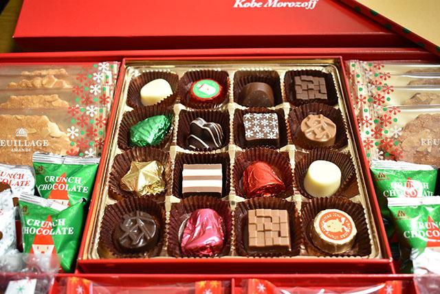 モロゾフ クリスマス限定ギフト チョコレート