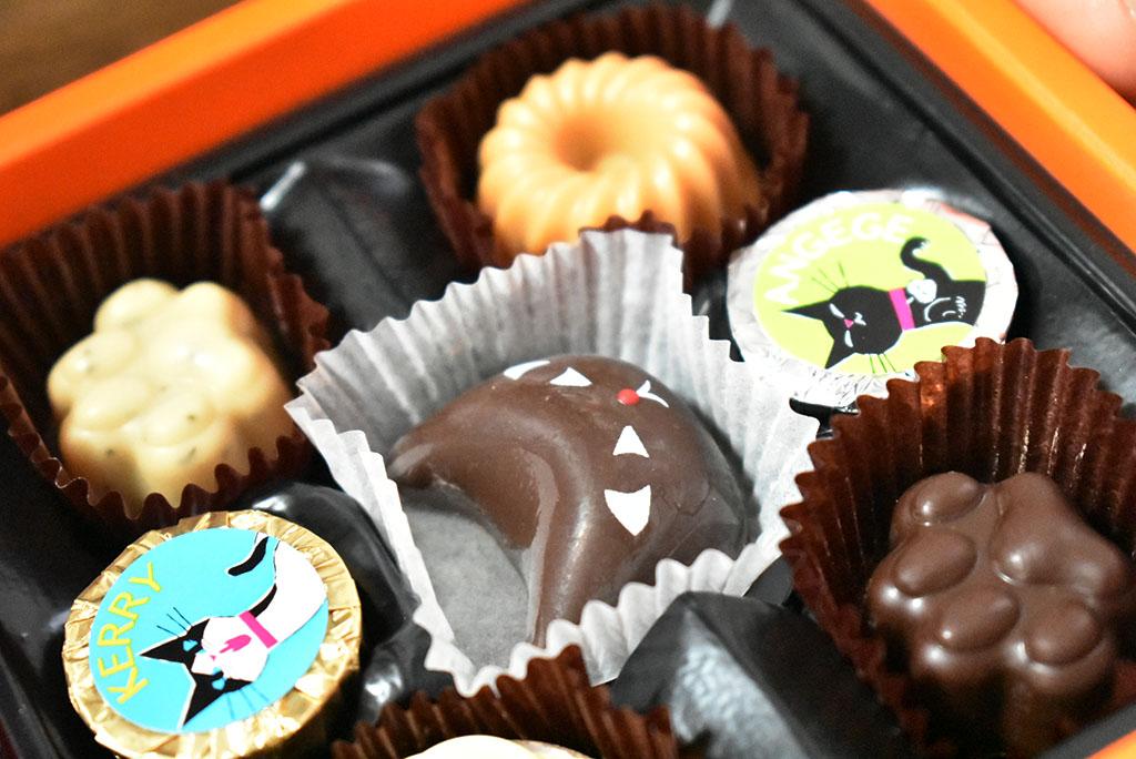 ゴンチャロフ アンジュジュ のチョコレート