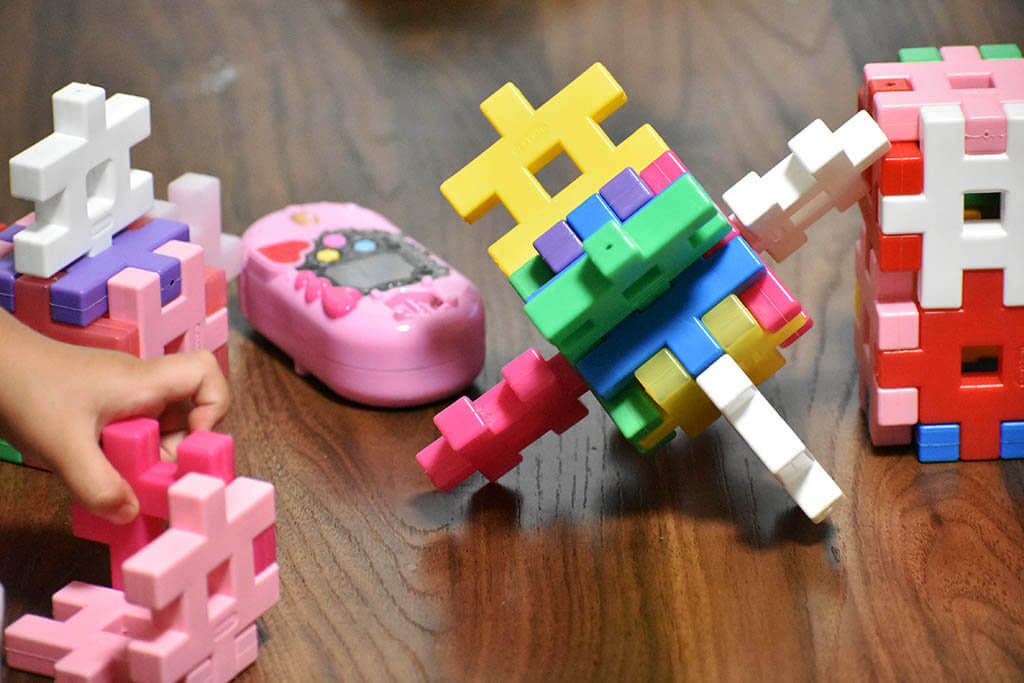 ニューブロックで作ったもの2歳