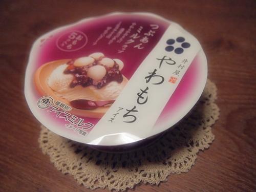 P1021665 こうたで!井村屋のやわもちアイス(つぶあんミルクカップ)