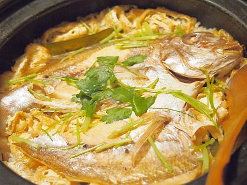P1041837 一夜干の真鯛を使って鯛飯を作るレシピ