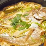 一夜干の真鯛を使って鯛飯を作るレシピ