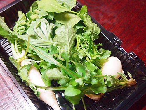 P1070664 2014年七草粥は、炊飯ジャーのおかゆ機能を使って
