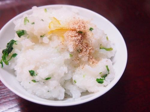 P1070668 2014年七草粥は、炊飯ジャーのおかゆ機能を使って手軽に