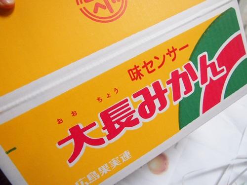 P1080695 みかん箱買い4箱目は広島の大長みかん