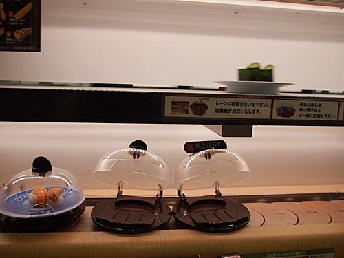 P1190887 はじめてのくら寿司。