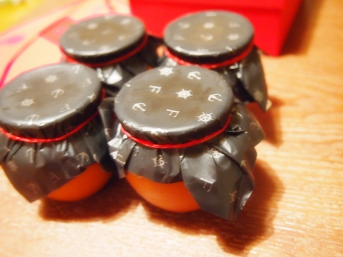 P203261 壺プリンが私と娘のツボでした。壺付プリン。