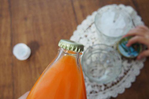 常温にんじんりんごレモンジュース