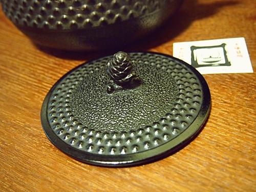 P2182821 白湯を飲むために、南部鉄器の鉄瓶をついに箱から出す