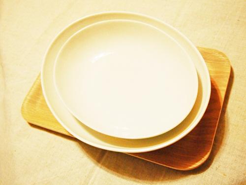 無印良品のカレー・パスタ皿