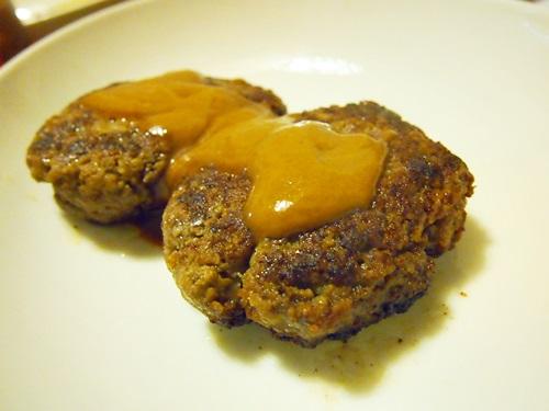 P3023466 京都御幸町CAMERONのお取り寄せ「究極のハンバーグセット」美味しいよ