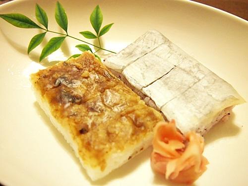 P3063675 楽天の紀州老舗割烹 橘家さんで鯖寿司などの食べ比べセットを買った