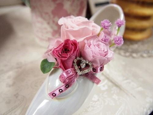 P3088956 [母の日]シンデレラの靴!日比谷花壇とディズニーコラボのかわいらしい贈り物