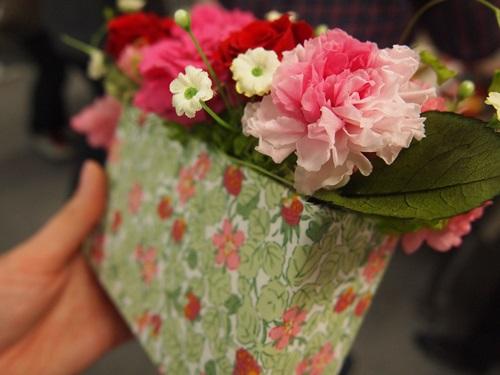 P3088979 [母の日]日比谷花壇とリバティプリントのお花のギフト