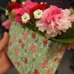 [母の日]日比谷花壇とリバティプリントのお花のギフト(プリザ)