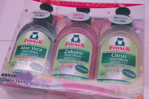 P3111657 フロッシュの食器用洗剤が3種類お試しできるセットを買いました♪