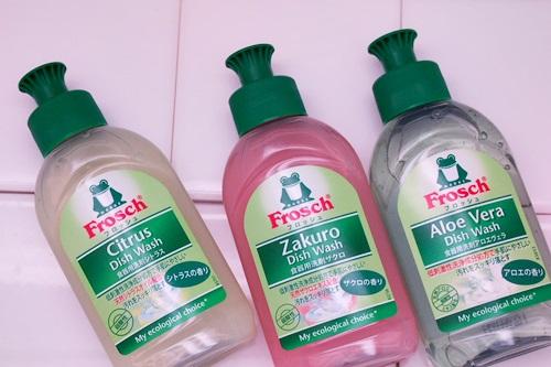 P3111660 フロッシュ食器用洗剤が3種類オタメシできるセット