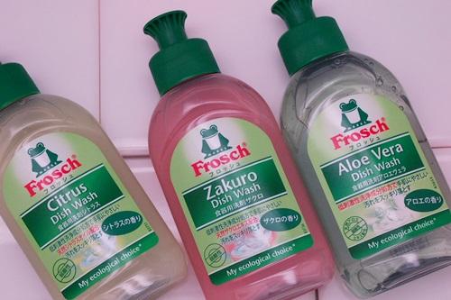 P3111661 フロッシュ食器用洗剤が3種類オタメシできるセット